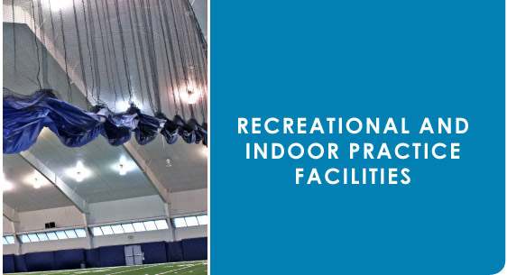 Recreational and Indoor Practice Facilities